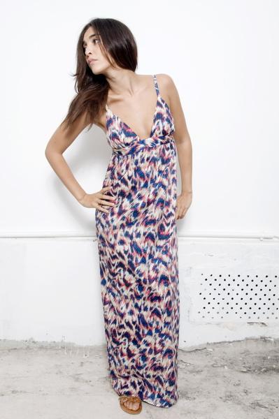 brangère claire robe longue