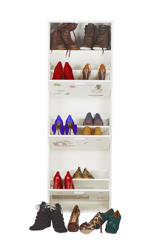 Range tes chaussures - Petit meuble a chaussures ...