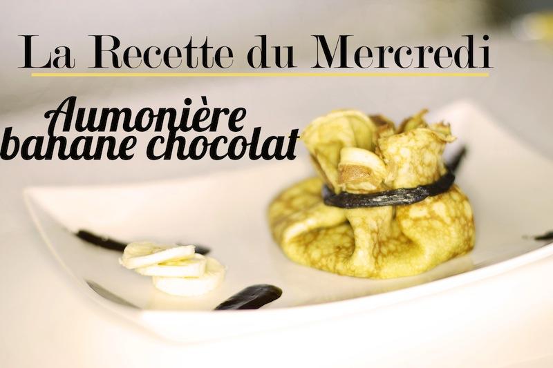 La Recette du Mercredi #19 : Aumonière banane chocolat