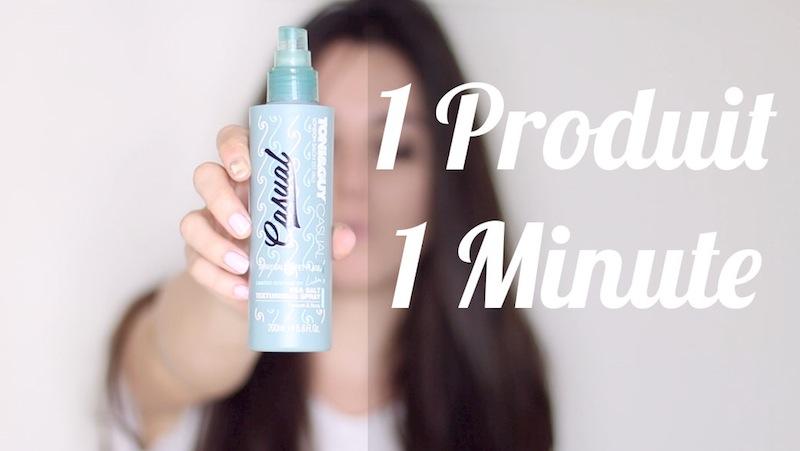 1 Produit 1 Minute : Spray effet plage Toni&Guy