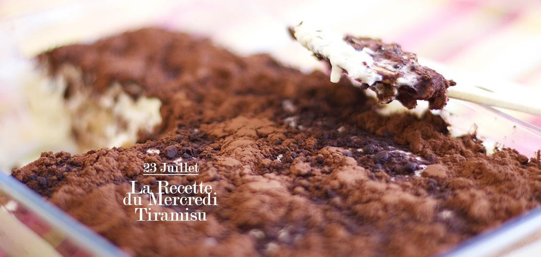 La Recette du Mercredi #41 : Tiramisu