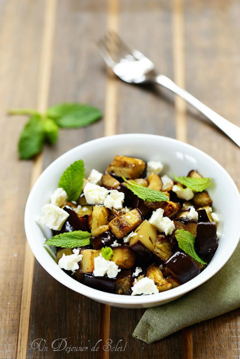 Salade_aubergines_roties
