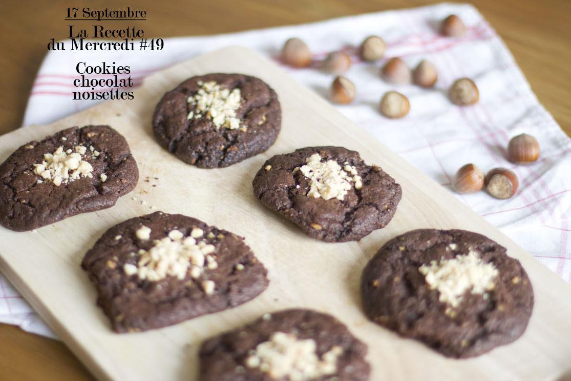 La Recette du Mercredi #49 : Cookies chocolat noisettes