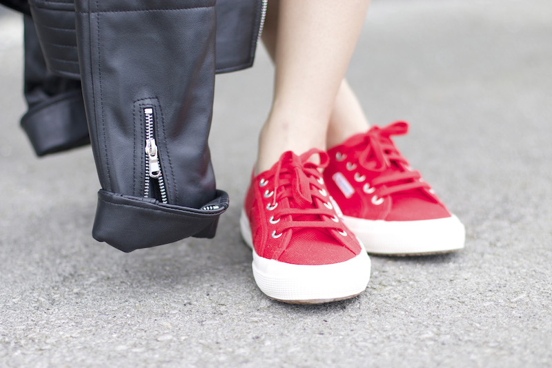 superga rouge