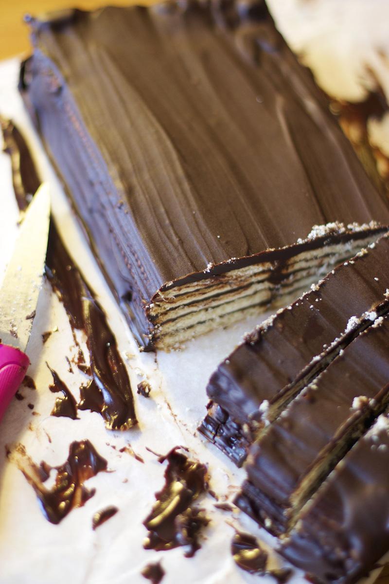 gâteau chocolat sans cuisson