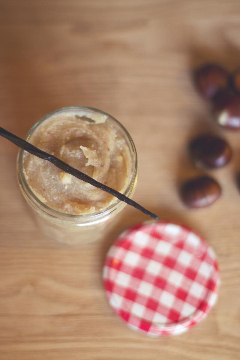 recette crème de marrons