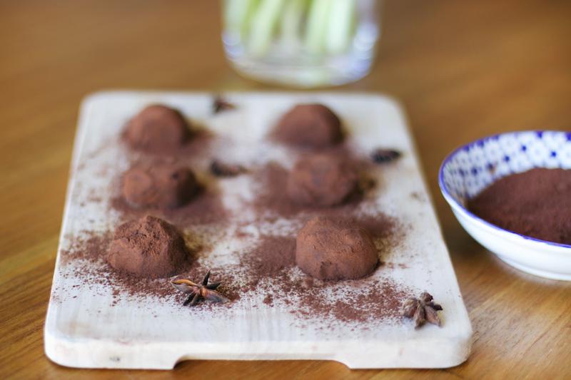 recette truffes vegan