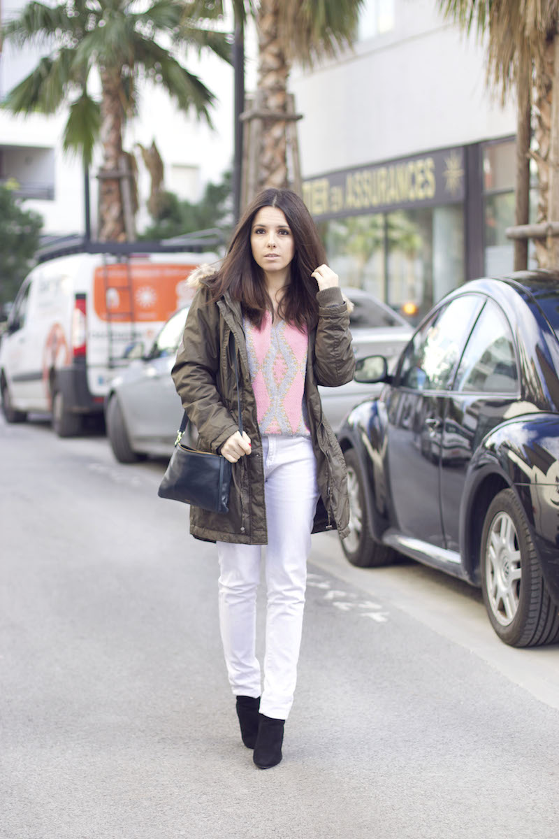 jean blanc hiver