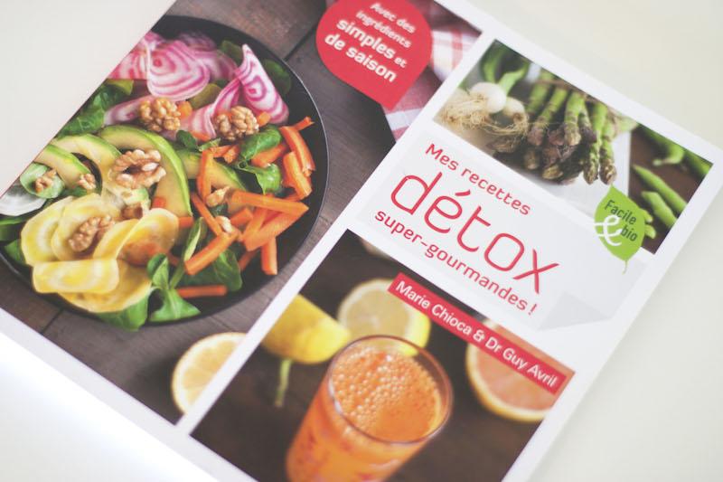 avis livre mes recettes detox gourmandes