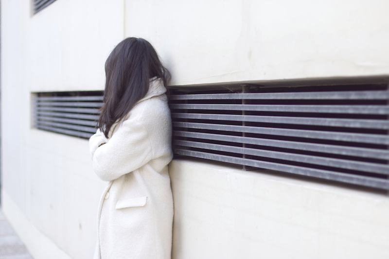 manteau blanc pimkie
