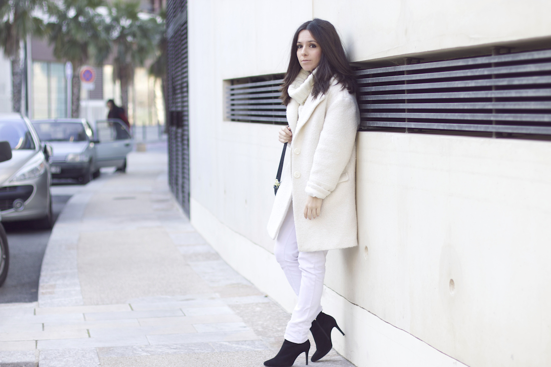 total look blanc hiver
