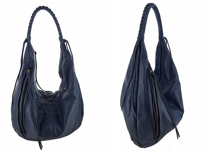 sac bleu léa toni