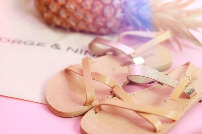 sandales george&nina