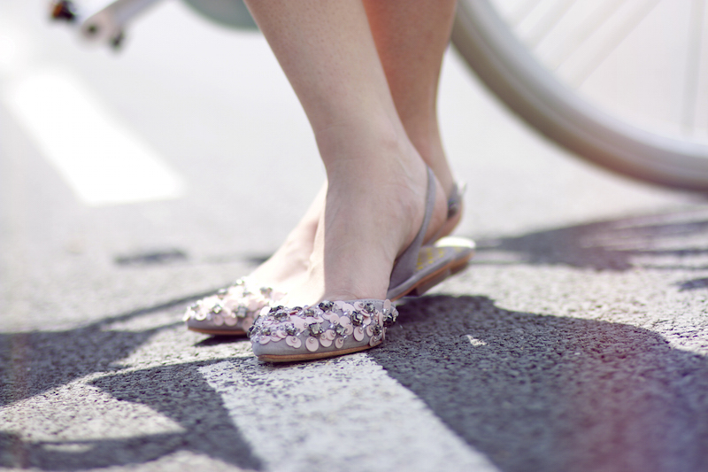 chaussures fleurs boden