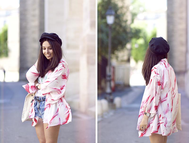 look-kimono-rose-blanc