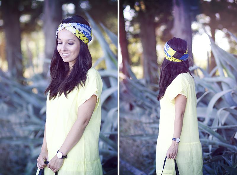 robe jaune balsamik