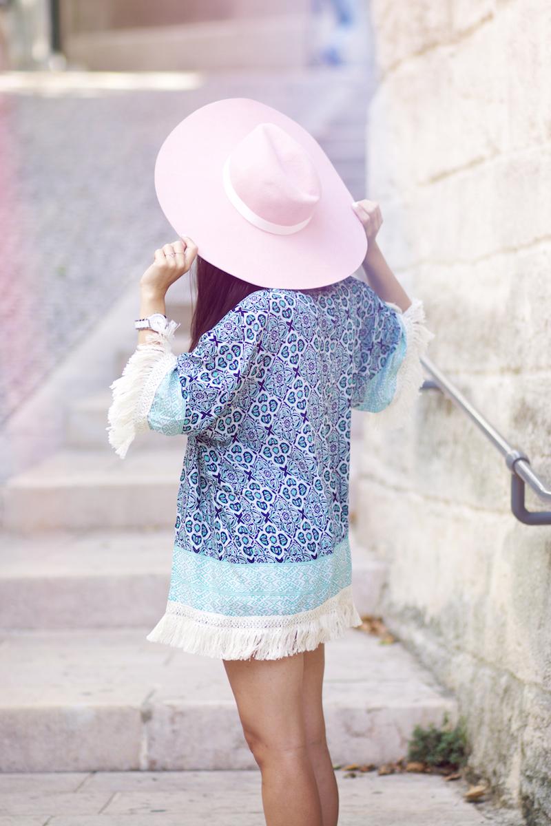 chapeau rose XXL