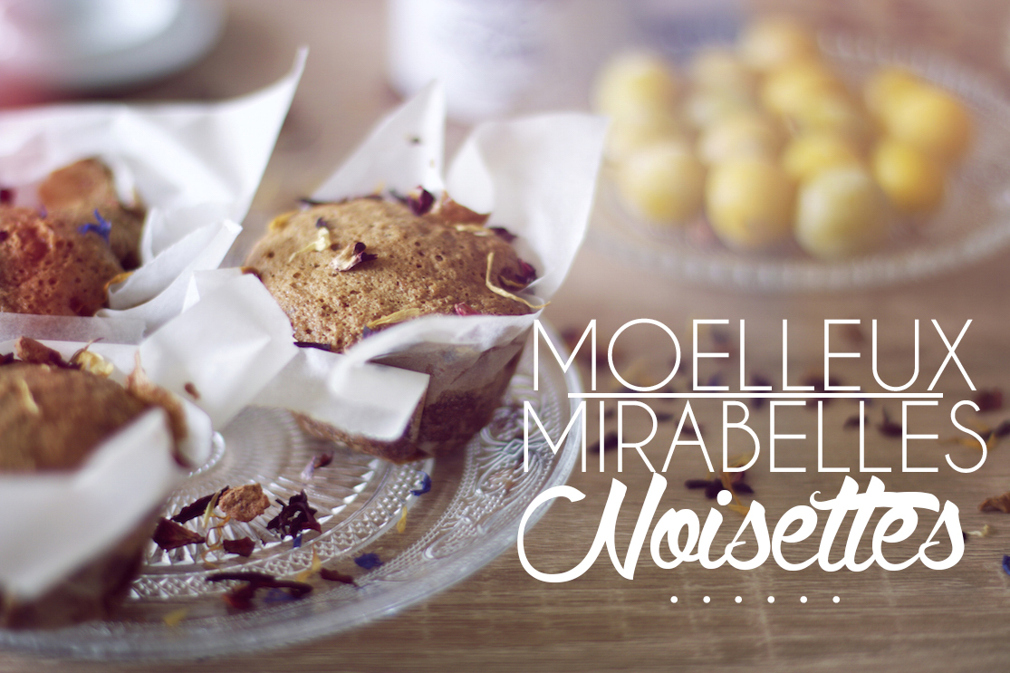 Petits muffins mirabelles noisettes