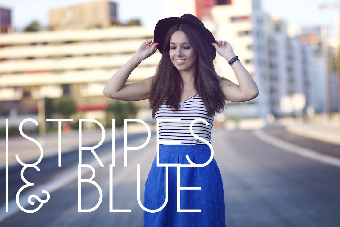 Stripes & Blue