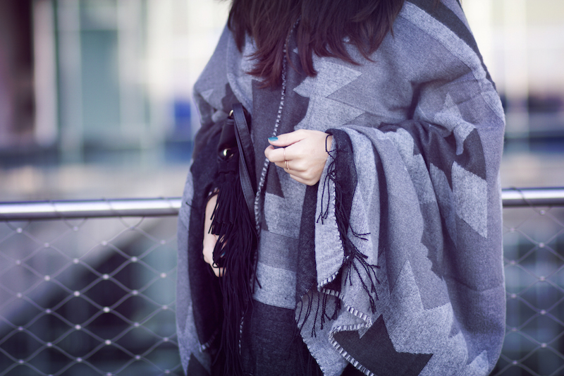 cape poncho hiver 2015