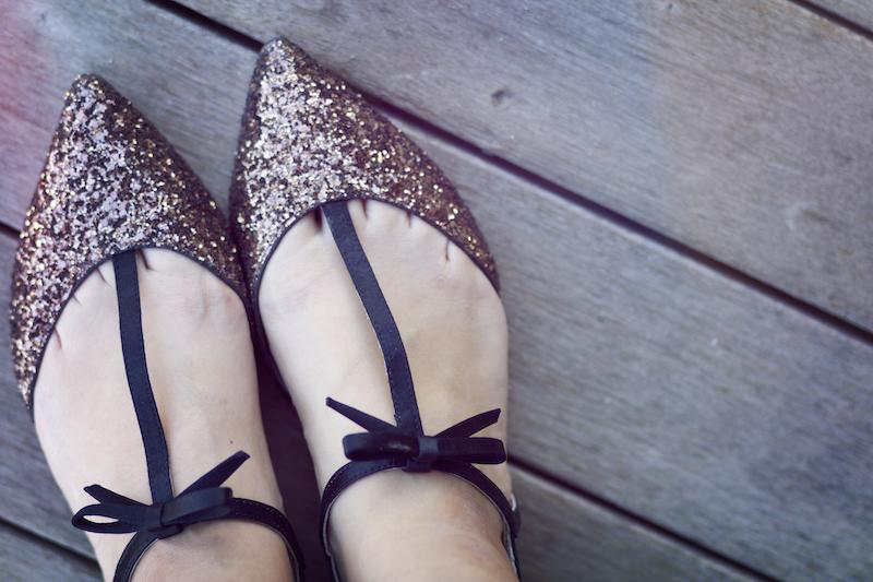chaussures paillettes