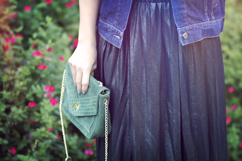 sac vert petite mendigote