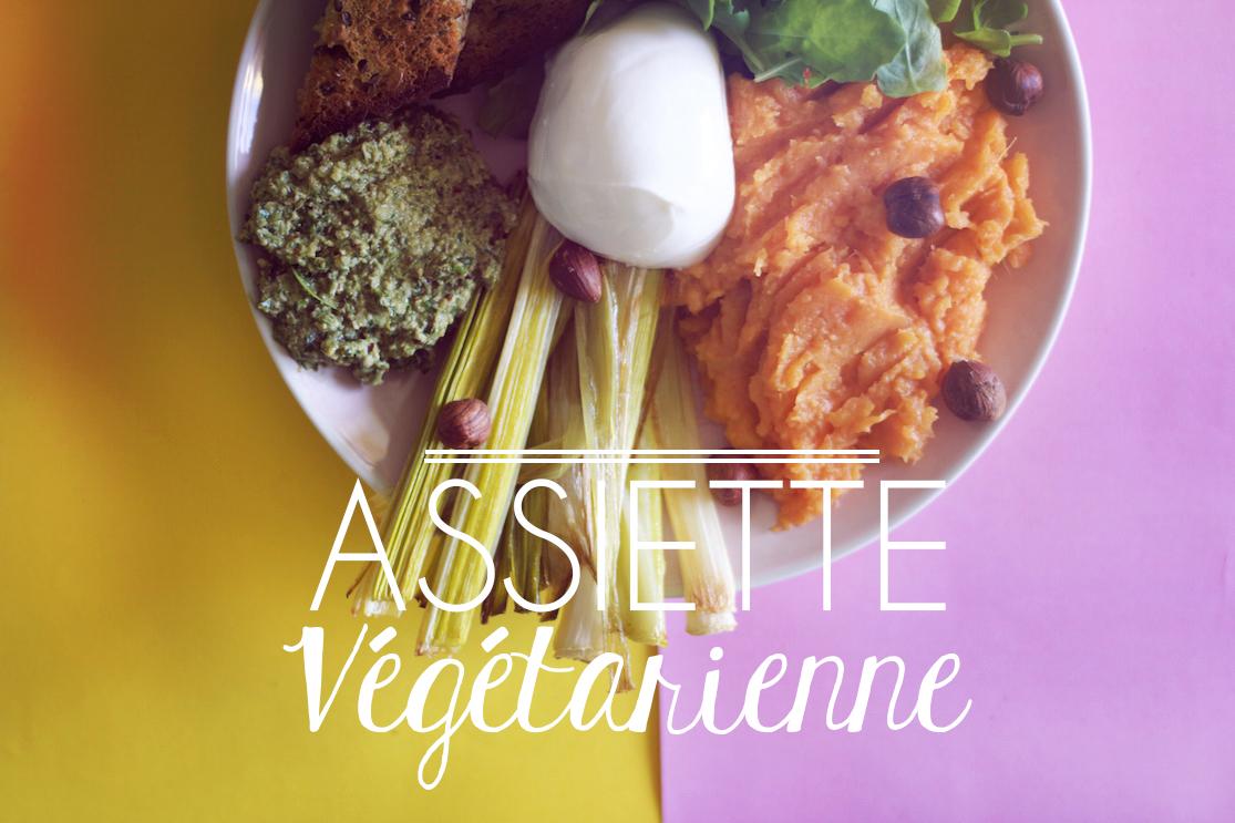 Assiette végétarienne #1