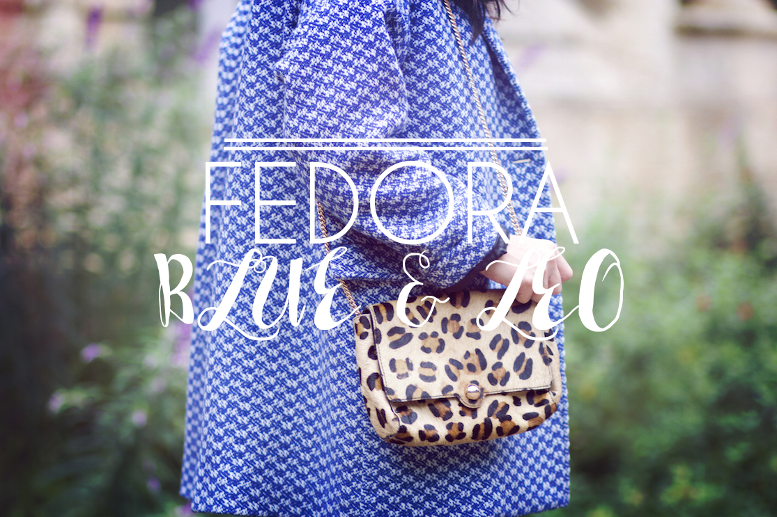 Fedora, blue & léo