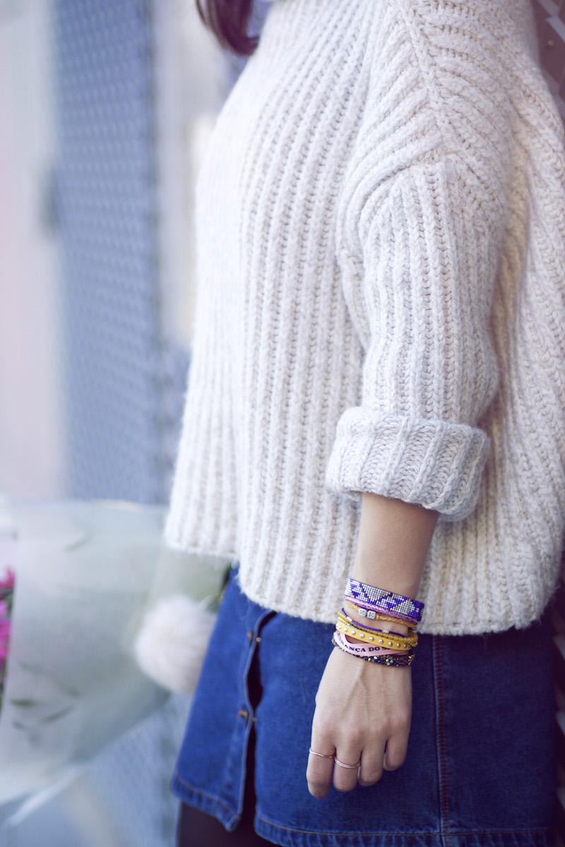pull beige Zara