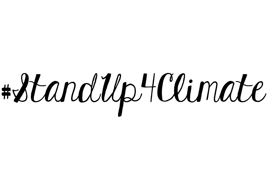 #StandUp4Climate