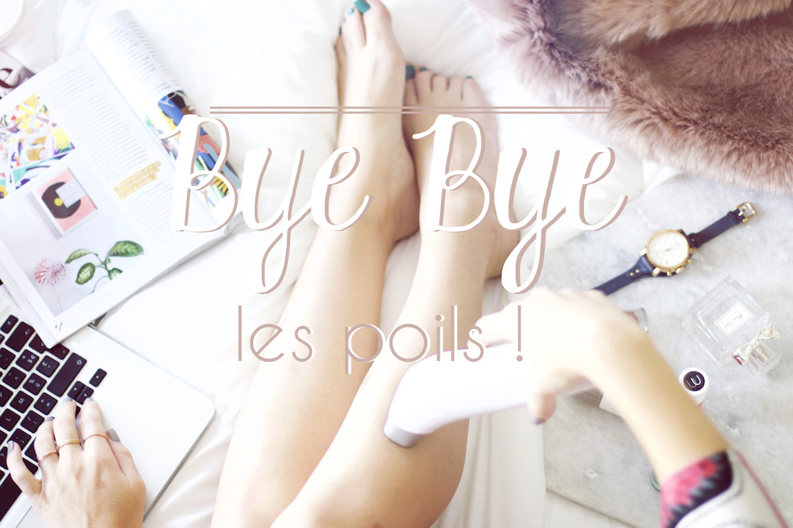 Bye Bye les poils! (Et GROS concours inside)
