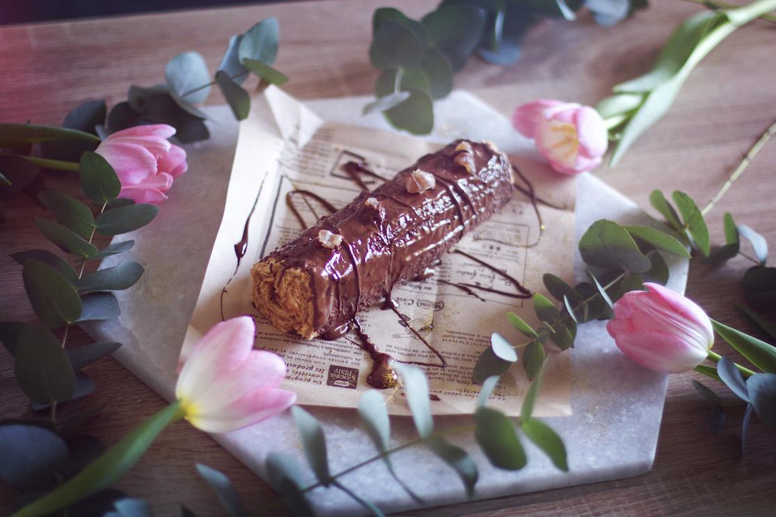 BUCHE marron chocolat sans gluten