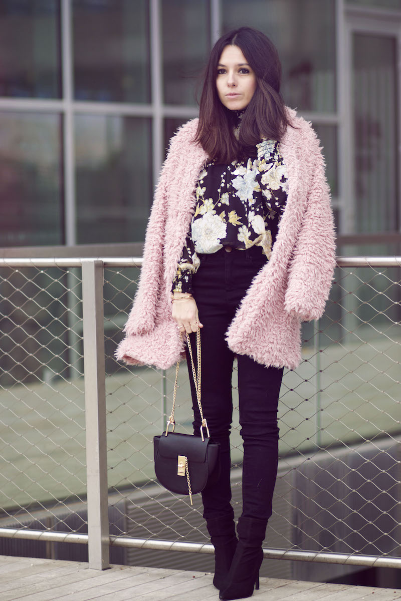 blog mode manteau rose