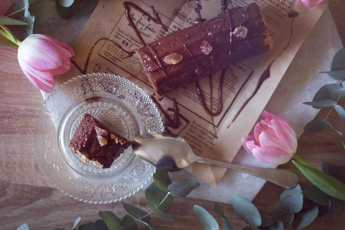 buche-marron-chocolat-sans-gluten