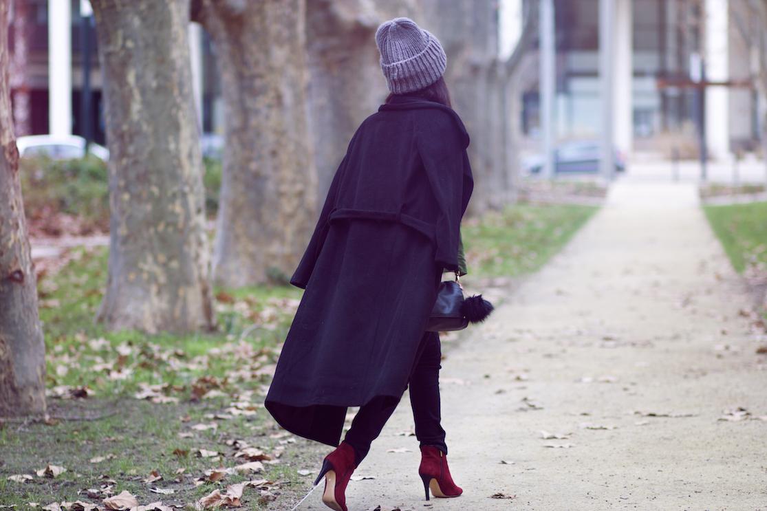 blog mode manteau noir