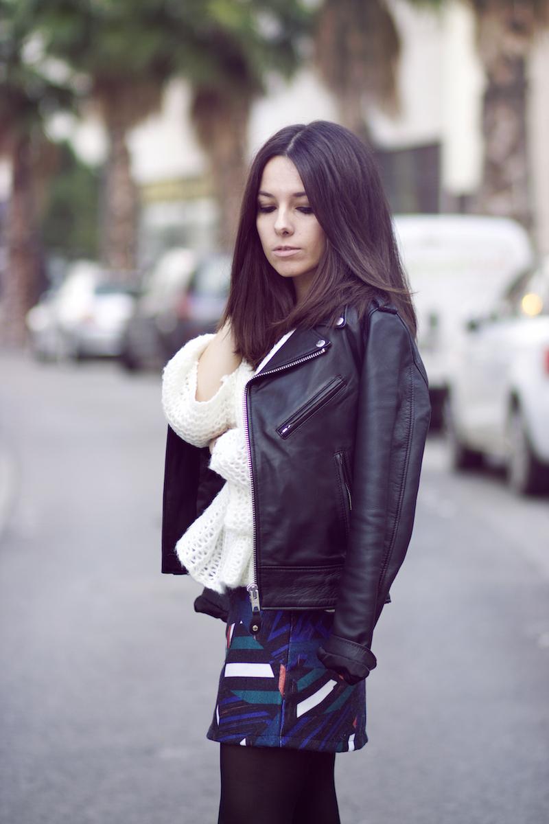 blog mode veste cuir schott