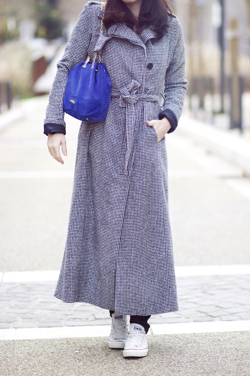 long manteau gris