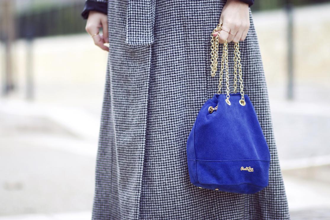 sac bourse bleu paul & joe