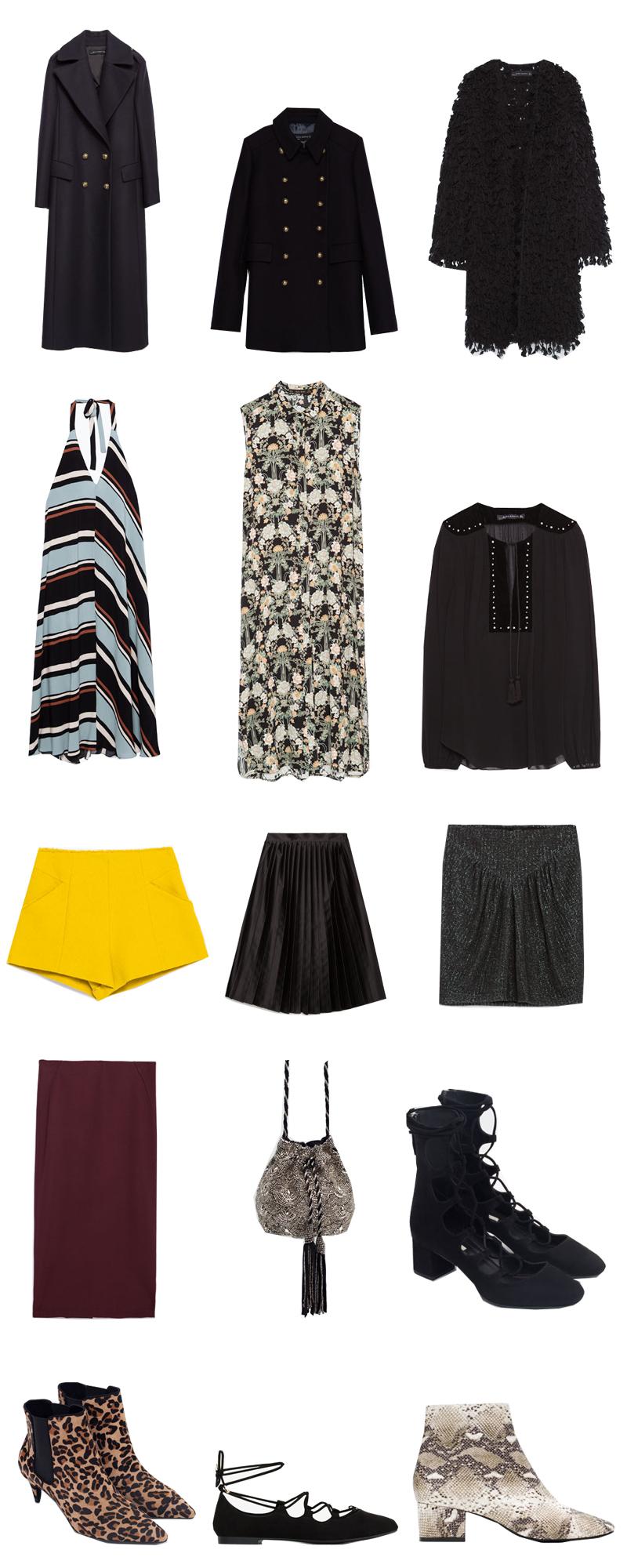 shopping selection