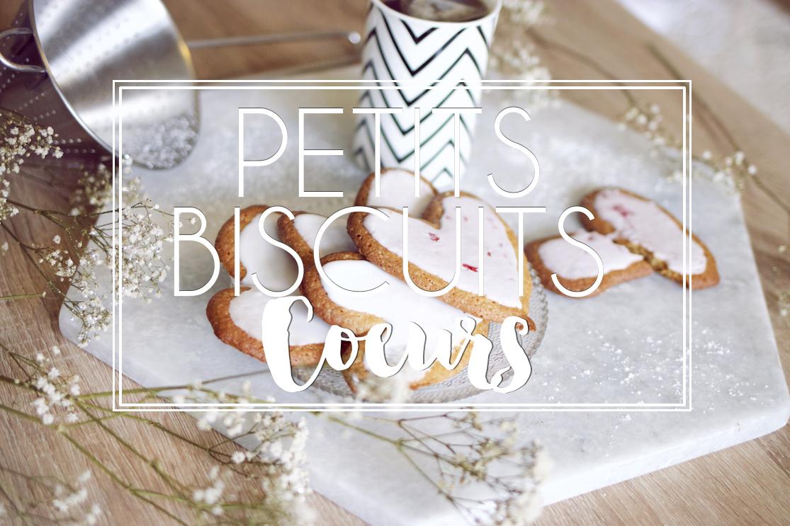 Biscuits coeurs trop mignons