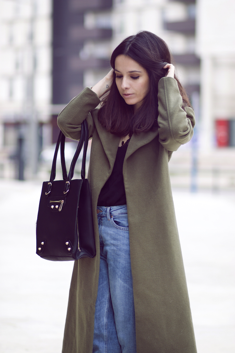 blog mode manteau kaki