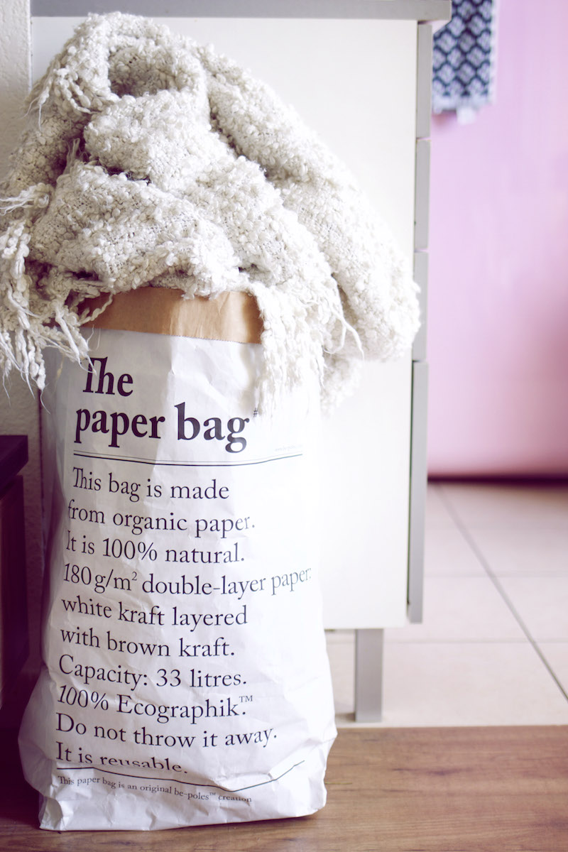 sac en papier décoration