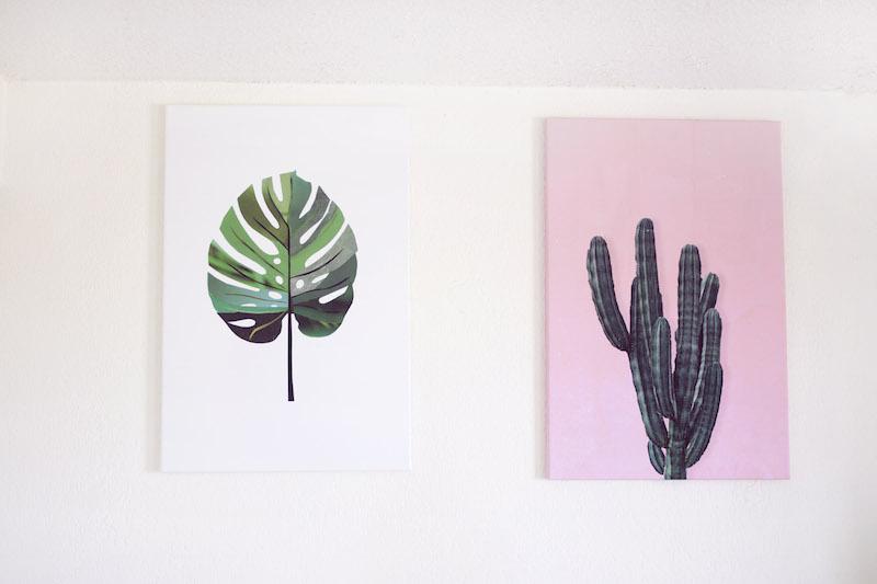 tableaux plantes JUNIQE