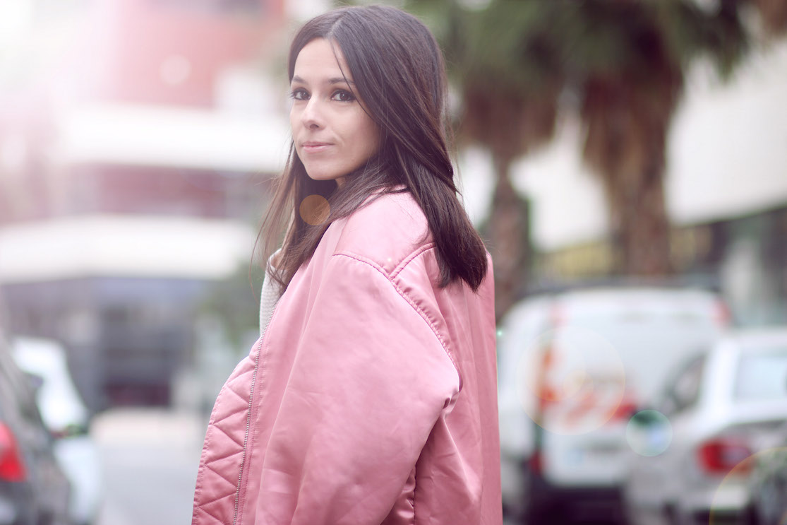 BLOG MODE BOMBER ROSE MANGO