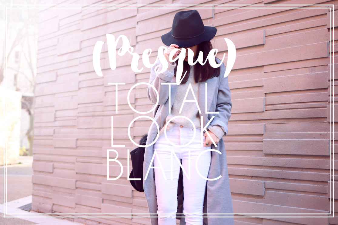 (Presque) total look blanc