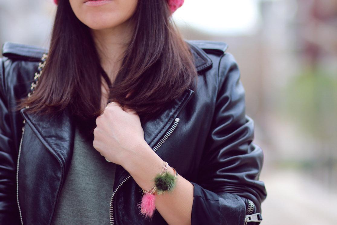blog mode bracelets pompons