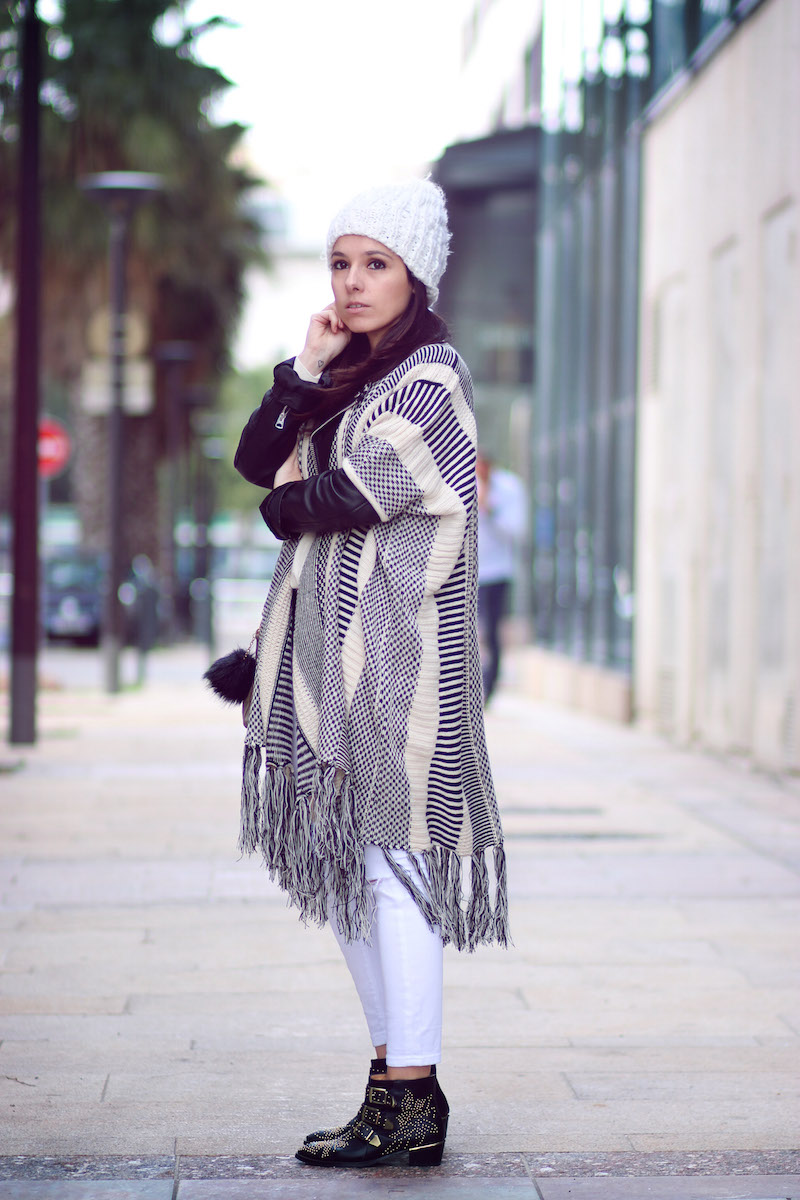 blog mode cape poncho
