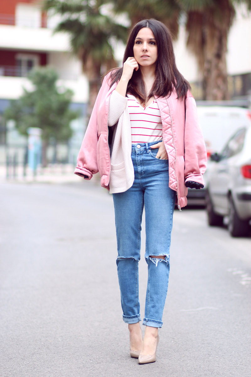 blog mode jean mom slim asos