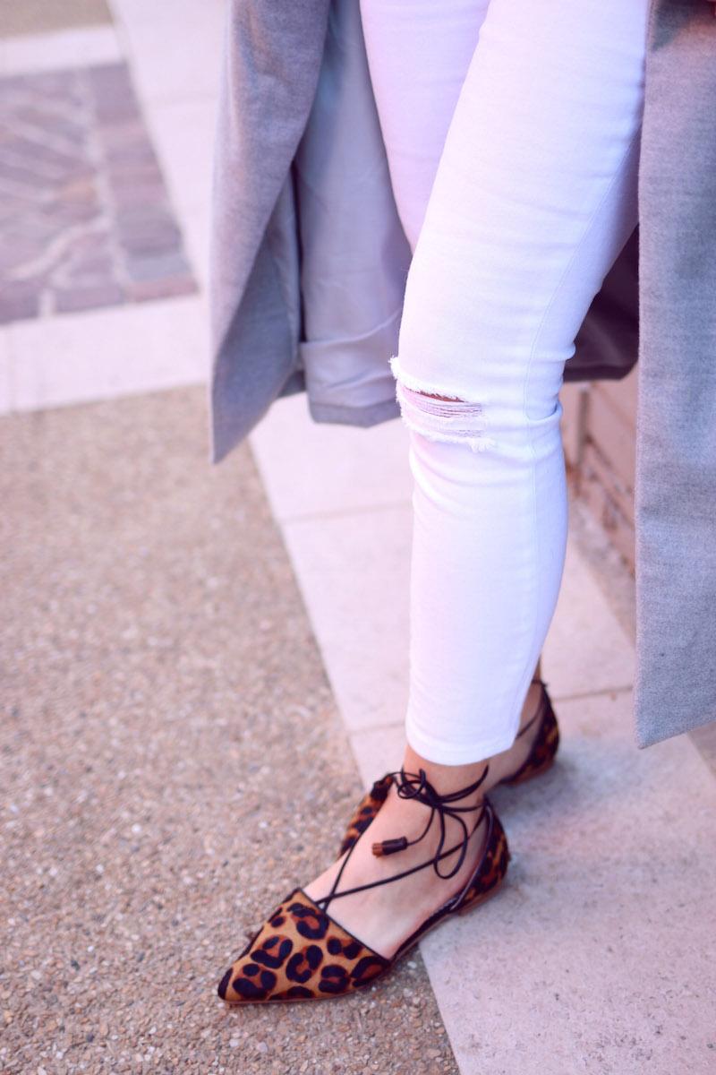 blog mode jeans blanc déchiré