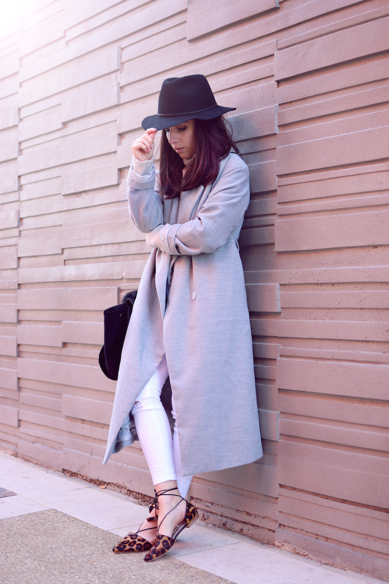 blog mode long manteau gris